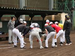 本日は『groupdandy』で一斉に開催された球技大会!