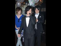 悠斗幹部補佐がマイクを持ち、皆さんへ感謝のお言葉を告げられていましたよ♪