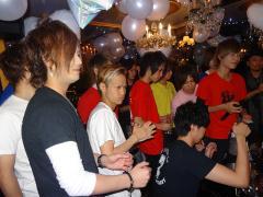 イベントが始まると、早くもシャンパンコールの嵐ッ☆