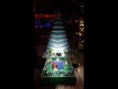 シャンパンタワーでイベントの盛り上がり期待度大!