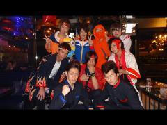 それではここで本日のチーム別ショット♪まずは幸村取締役率いる日本の伝統チーム!