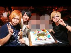 そしてこんな大きなケーキまで姫様からプレゼントしてもらいました!