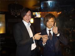 幸村代表代理とのショットをゲット☆シルバーのgdバッチが贈られました!