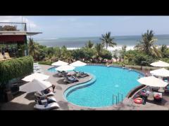 泊まったリゾートホテルからの素敵な眺め!
