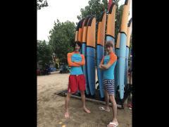 魅録幹部補佐とYUTAKAはサーフィン組!足ほそっっ…!