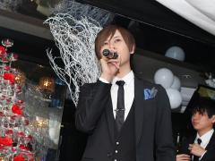 先輩を代表して海斗主任もお祝いのコメント!