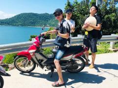 海斗部長バイクも似合います!!