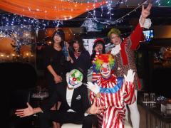 最後は幹部の集合で締めたいと思います!!凄い個性豊かな仮装が沢山で大変盛り上がったイベントでした!