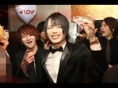 「TOPDANDY1st」より行われましたバレンタインイベント、イケ男選手権合同イベント!!