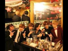 こちらは「CANDY」よりセイヤ取締役と綾瀬主任がお祝いに来てくれました!