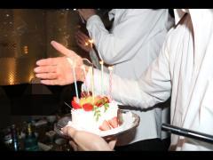 昇格を祝いケーキも☆