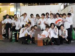 最後はお店の前での集合で締めたいと思います!以上「TOPDANDY1st」よりsena幹部補佐の昇格祭イベントでした!