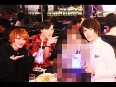 ぽち。副主任と柊斗主任そして影星副主任のお写真もいただきました!