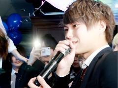 翔クンは「海斗さんは輝いてかっこいいです」のコメントを頂きました☆