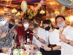 candyから大地支配人、啓吾取締役、綾瀬常務取締役がお祝いにきました☆