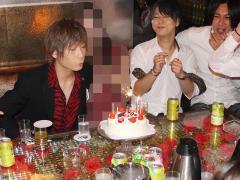 誕生日ケーキもきちんと用意しております!ろうそく吹き消す剛副主任☆