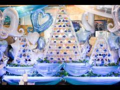 青一色のタワーはとてもきれいですね!!