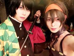 最後は富岡とナランチャの一枚で締めましょう!以上、ファーストのハロウィンイベントでした!